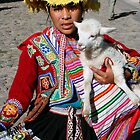 Indigenous Woman dressed in Traditional Costume by Deb22