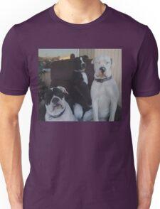 the three females Unisex T-Shirt