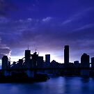 A blue hour Storey by Peter Doré