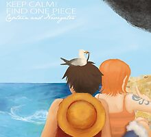Keep calm & find One Piece by fuu-art