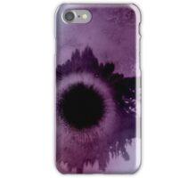 lilac eclipse iPhone Case/Skin