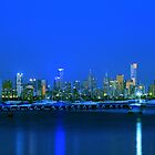 melbourne from williamstown by ashara