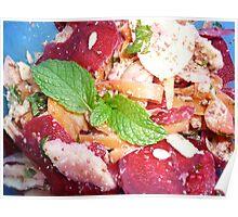 Peeled Salad Poster