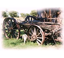 The old Wagon Photographic Print