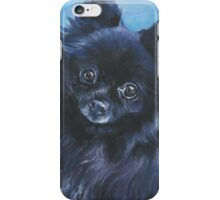 Pomeranian Fine Art Painting iPhone Case/Skin