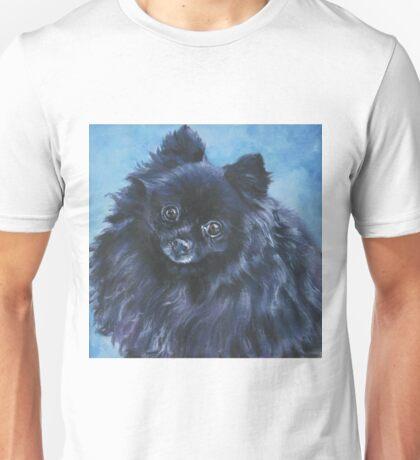 Pomeranian Fine Art Painting Unisex T-Shirt