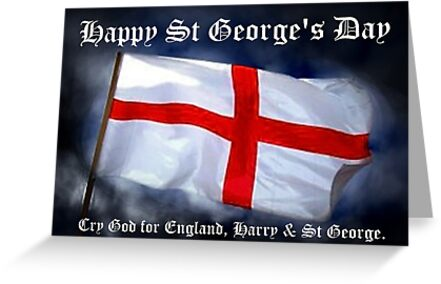 St George's Day card by Country  Pursuits