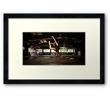 Girl likes to Fly Framed Print