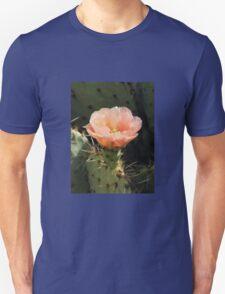 Peach Cactus Blossom Unisex T-Shirt