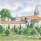 Château at Torsac, France by ian osborne