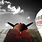 VINTAGE DC-3 AIRCRAFT by ArtbyDigman