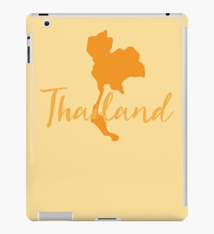 Thailand map fancy iPad Case/Skin