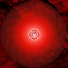 Base Chakra ~ Red ~ Mulahadra ~ Female by Julia Harwood