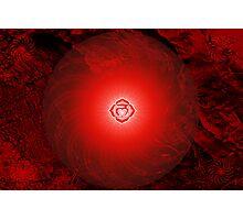 Base Chakra ~ Red ~ Mulahadra ~ Female Photographic Print