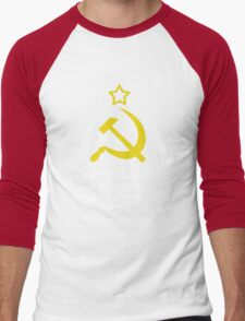 In Soviet Russia T-shirt wears you Men's Baseball ¾ T-Shirt