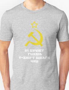 In Soviet Russia T-shirt wears you T-Shirt