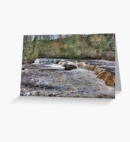 Aysgarth Falls - Wensleydale Greeting Card