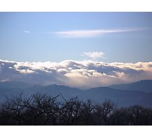 ROCKY MOUNTAIN WEATHER Photographic Print