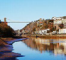 Hotwells, Bristol, U/K by Christine Lake