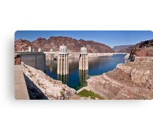 Hoover Dam - Lake Mead, AZ Canvas Print