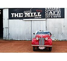 A Little Red Austin Photographic Print