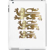 Three Lions iPad Case/Skin