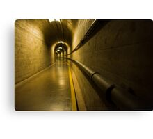 Inside Hoover Dam 2 Canvas Print