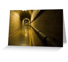 Inside Hoover Dam 2 Greeting Card