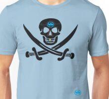 uk pirate sword tshirt by rogers bros T-Shirt