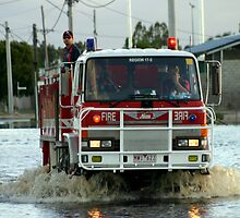 No fires but flood assistance this time! by Chris Chalk