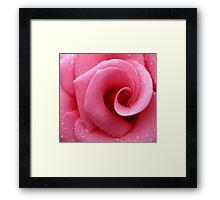 Strawberry swirl/Roomyspienk Framed Print
