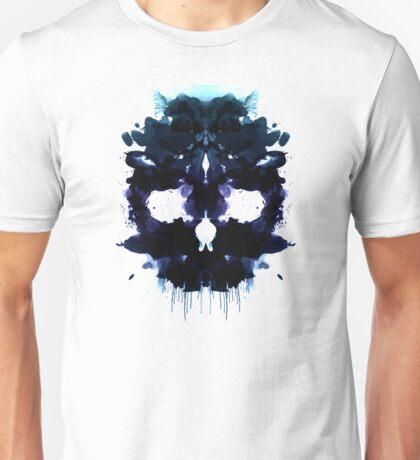 Rorschach Skull Unisex T-Shirt