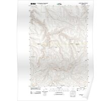 USGS Topo Map Oregon Salmon Fork 20110903 TM Poster