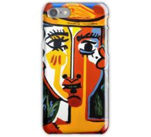 PICASSO PAINTING BY NORA The  Indian  iPhone Case/Skin