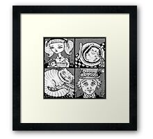 Wonderland Miniatures (Panel 1) Framed Print