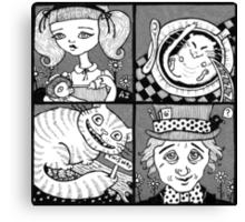 Wonderland Miniatures (Panel 1) Canvas Print