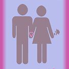 Valentine's Day card by bicyclegirl