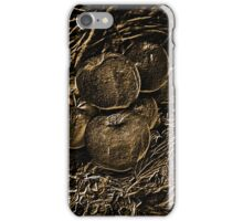 poisoned apples in bronze color iPhone Case/Skin