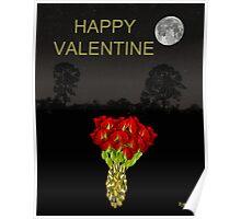ROSES HAPPY VALENTINE Poster