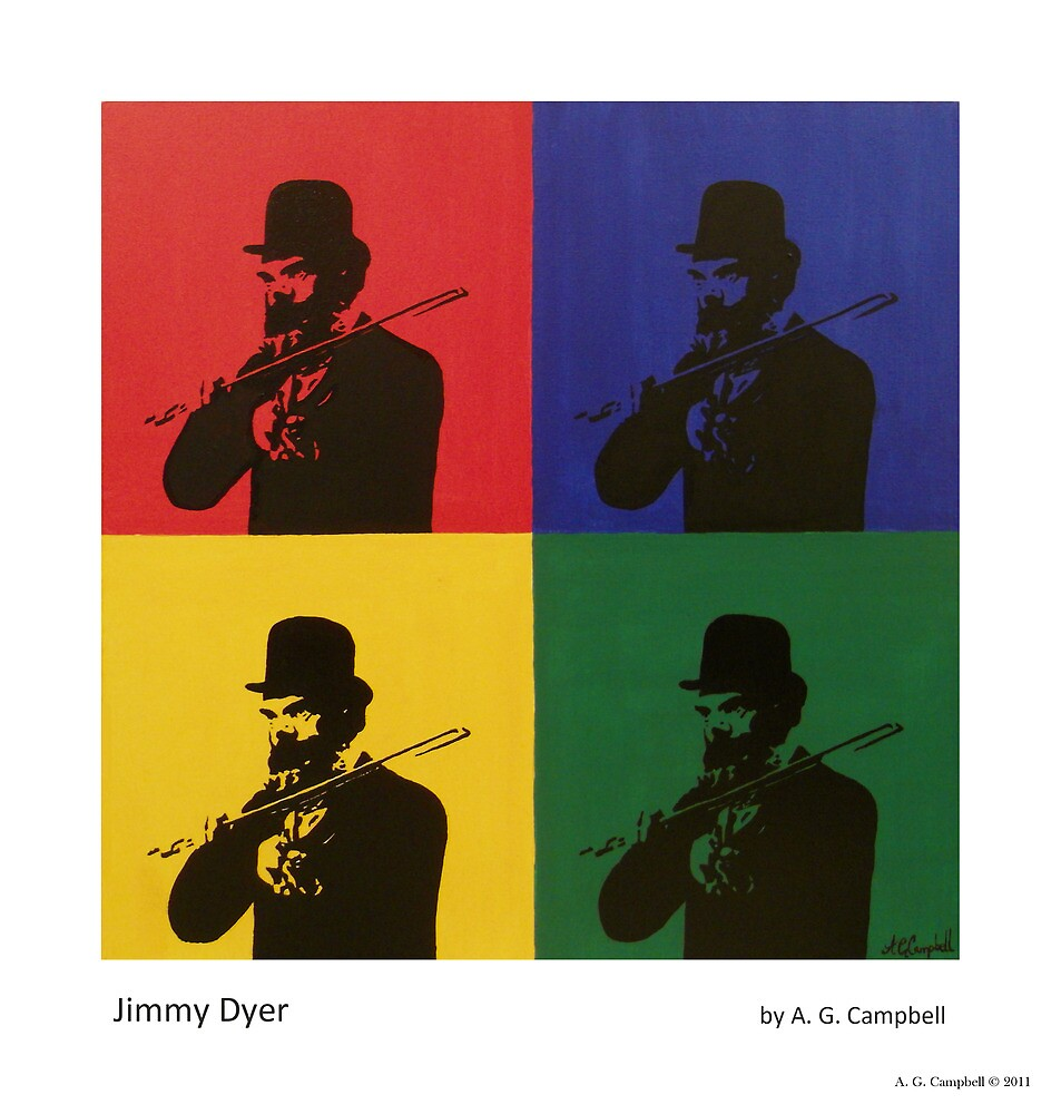 Jimmy Dyer by Andrew G Campbell