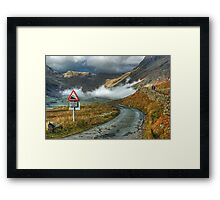 Spot The Difference...Solved Framed Print
