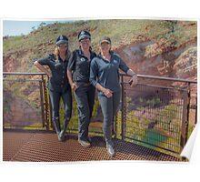 Bash 2015 Police Girls Hamersley Gorge Poster