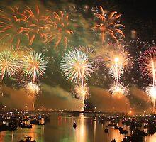 Bay City Fireworks Festival by mark5032001