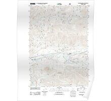 USGS Topo Map Oregon McKenzie Bridge 20110721 TM Poster