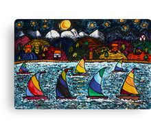 Come Sail Away Tonight Canvas Print