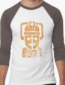 Rusting Cyberman Logo Men's Baseball ¾ T-Shirt