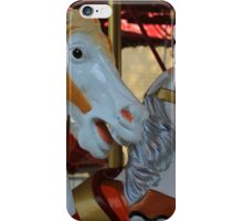 Carousel Horses at a Fair iPhone Case/Skin