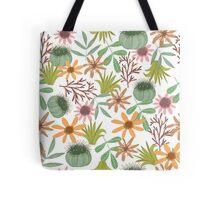 floral pattern exotik flowers Tote Bag
