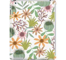 floral pattern exotik flowers iPad Case/Skin