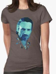 Rick Grimes - The Walking Dead Womens Fitted T-Shirt